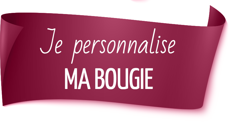 je personnalise ma bougie