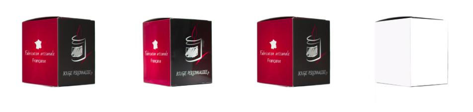 boite, bougie, personnalisée, emballage, packaging, carton